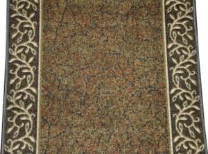 dean custom length washable carpet rug runner garden path green sold by the linear