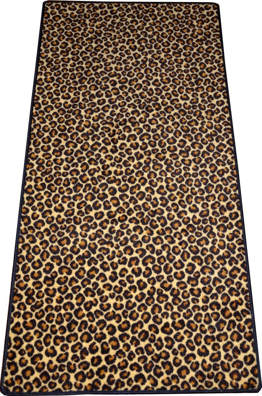 Dean Leopard Animal Print Carpet Runner Rug 30 Quot X 6