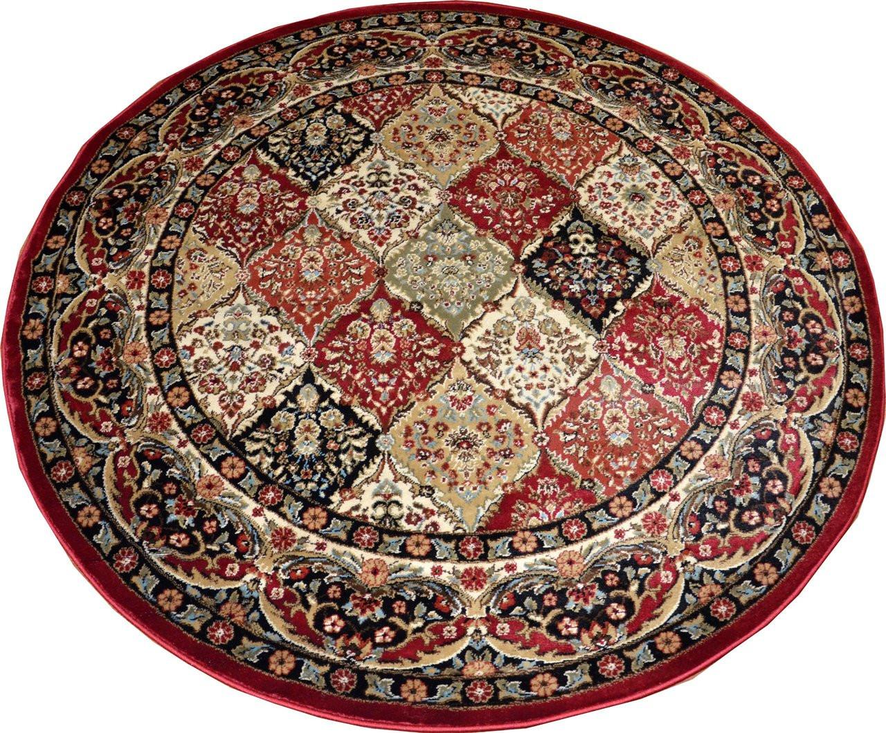 "dean panel kerman ' "" round rug  dean stair treads, Rug/"