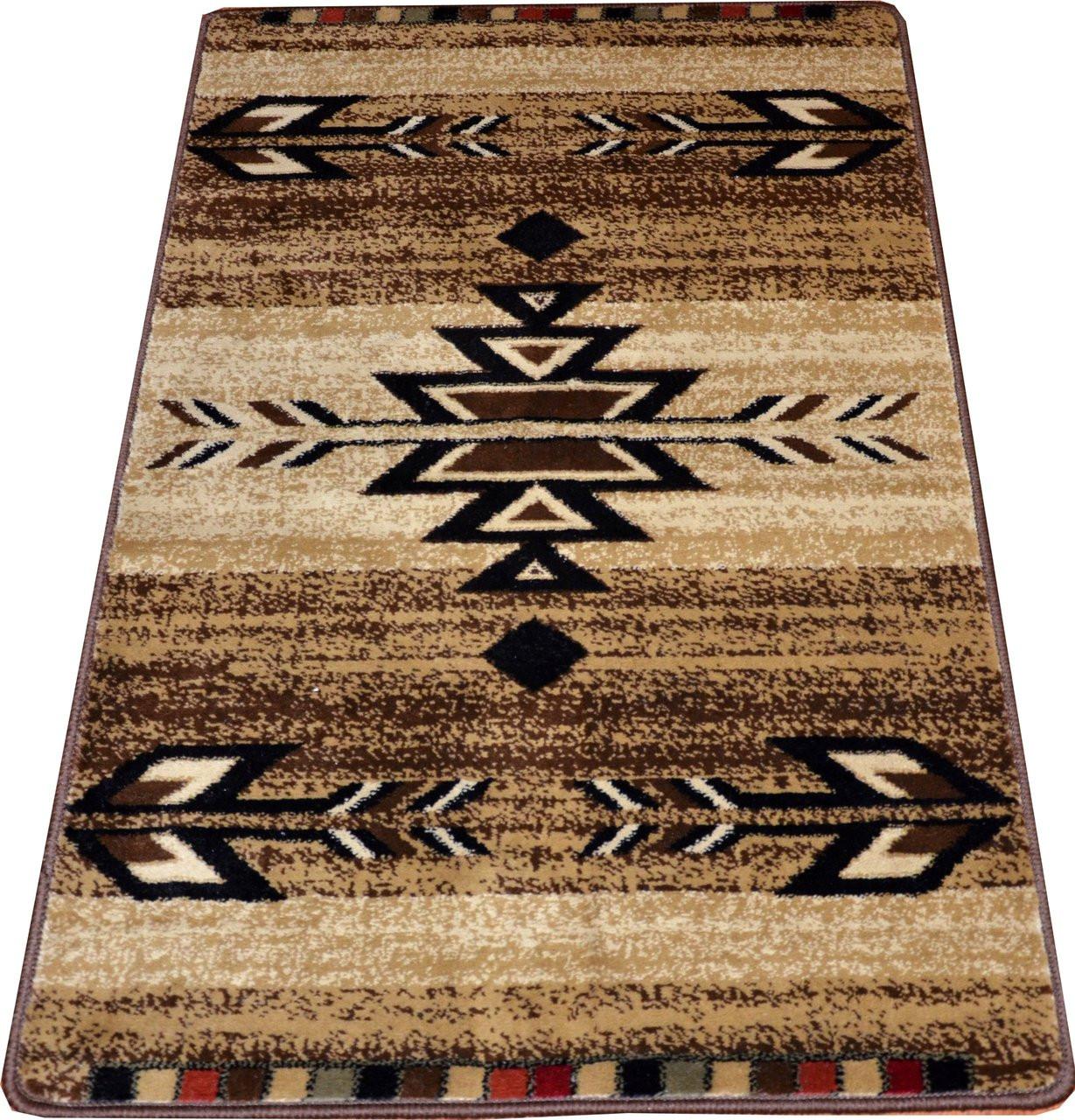 Dean Santa Fe Beige Carpet Rug Runner Mat 50 Quot X 31 Quot