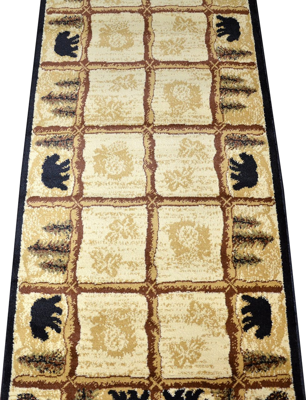 Dean Toccoa Bear Lodge Cabin Carpet Runner Rug 2 3 Quot X 7 7