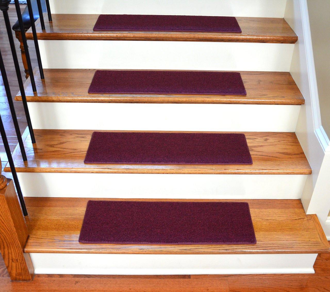 "Purple 23"" x 8"" Stair Treads"