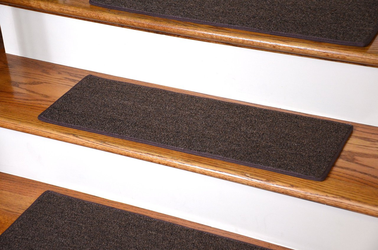 Diy Carpet Stair Treads Brown 23 Quot X 8 Quot Set Of 13
