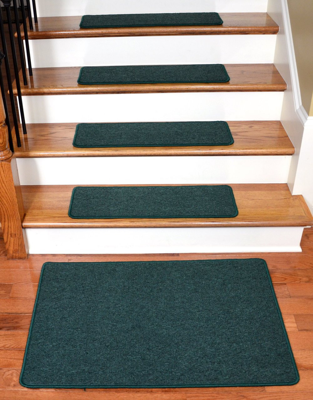 Dean Serged Diy Carpet Stair Treads 27 Quot X 9 Quot Emerald