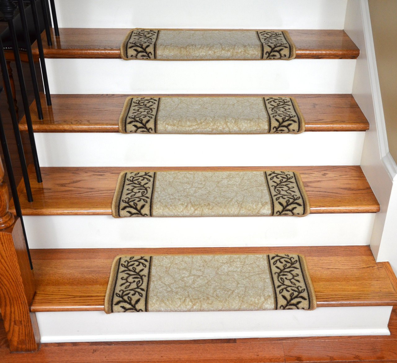Carpet To Hardwood Stairs Professional Carpet Runner Install Vs Diy Stair Treads