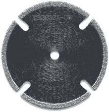 "1-1/2"" X 1/16"" X 1/4"" Bore Slotted Diamond Saw Blade"