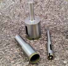 "2-1/4"" Mounted Diamond Core Drill"