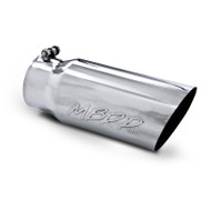 T5052 | Universal 304 Stainless Steel Exhaust Tip Single Walled