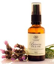 BALANCING FACE OIL WITH PINK GRAPEFRUIT & GERANIUM