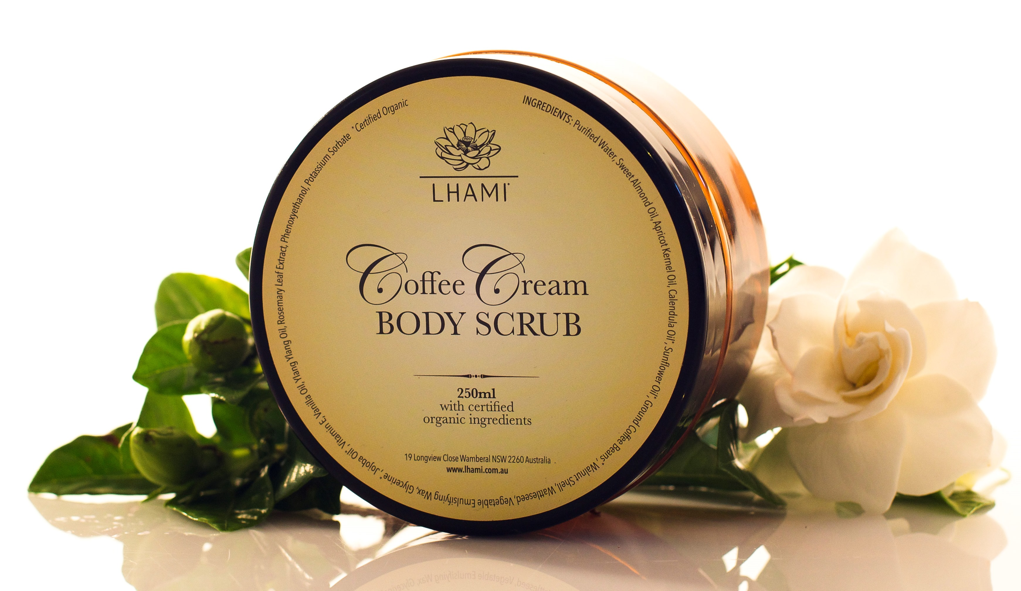 Coffee Cream Body Scrub