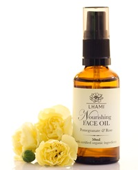 NOURISHING FACE OIL WITH POMEGRANATE & ROSE