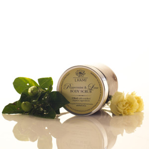 Peppermint & Lime Body Scrub 120ml