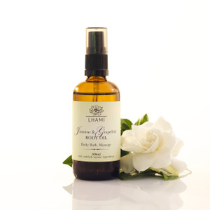 Jasmine & Grapefruit Body Oil 100ml