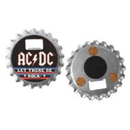 AC/DC Bottle-Opener Coaster Magnet