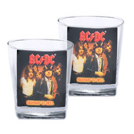 AC/DC Set of 2 Spirit Glasses
