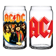 AC/DC Set of 2 Can-shaped Glasses