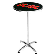 AC/DC Logo Bar Table
