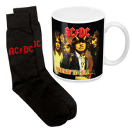 AC/DC Highway to Hell Mug & Sock Pack