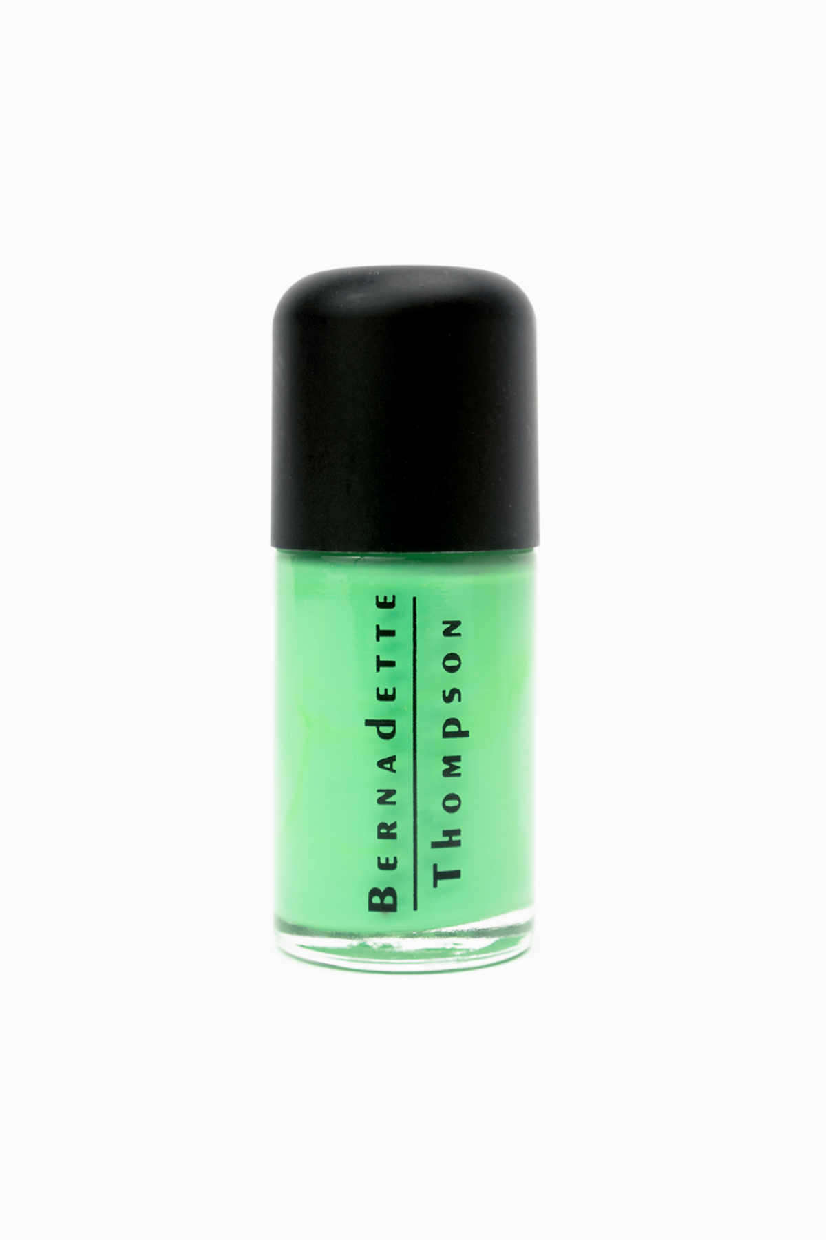 "BERNADETTE THOMPSON ""GREEN WITH ENVY"" NAIL POLISH"