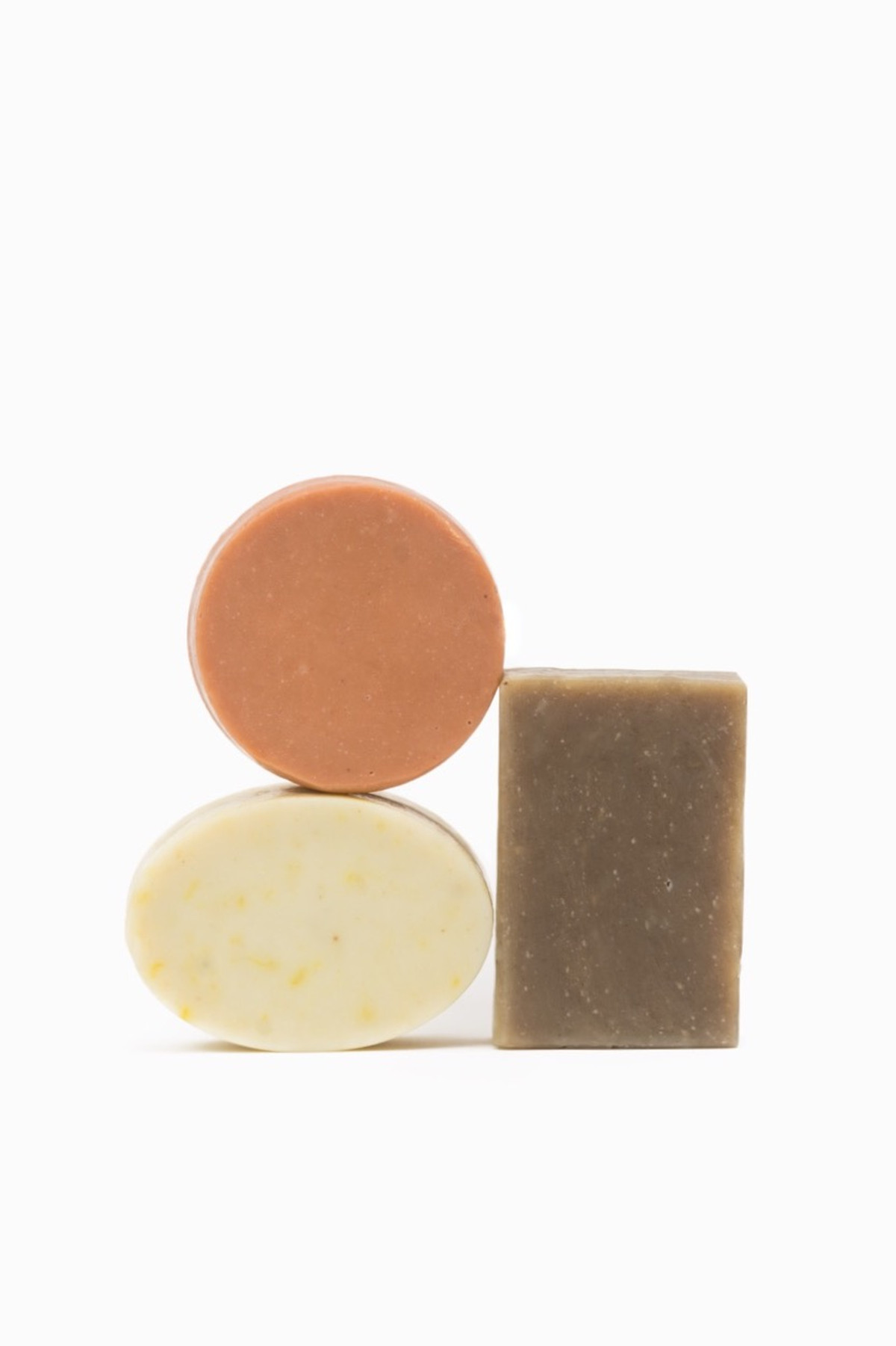 FOLIE FOR SAINT HERON ROSE HONEY CALENDULA 3 PIECE SOAP SET