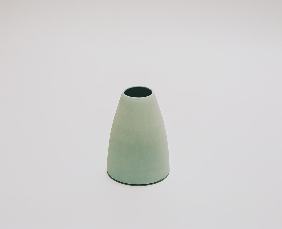 Saint Heron Ceramic Vase - Powder Blue