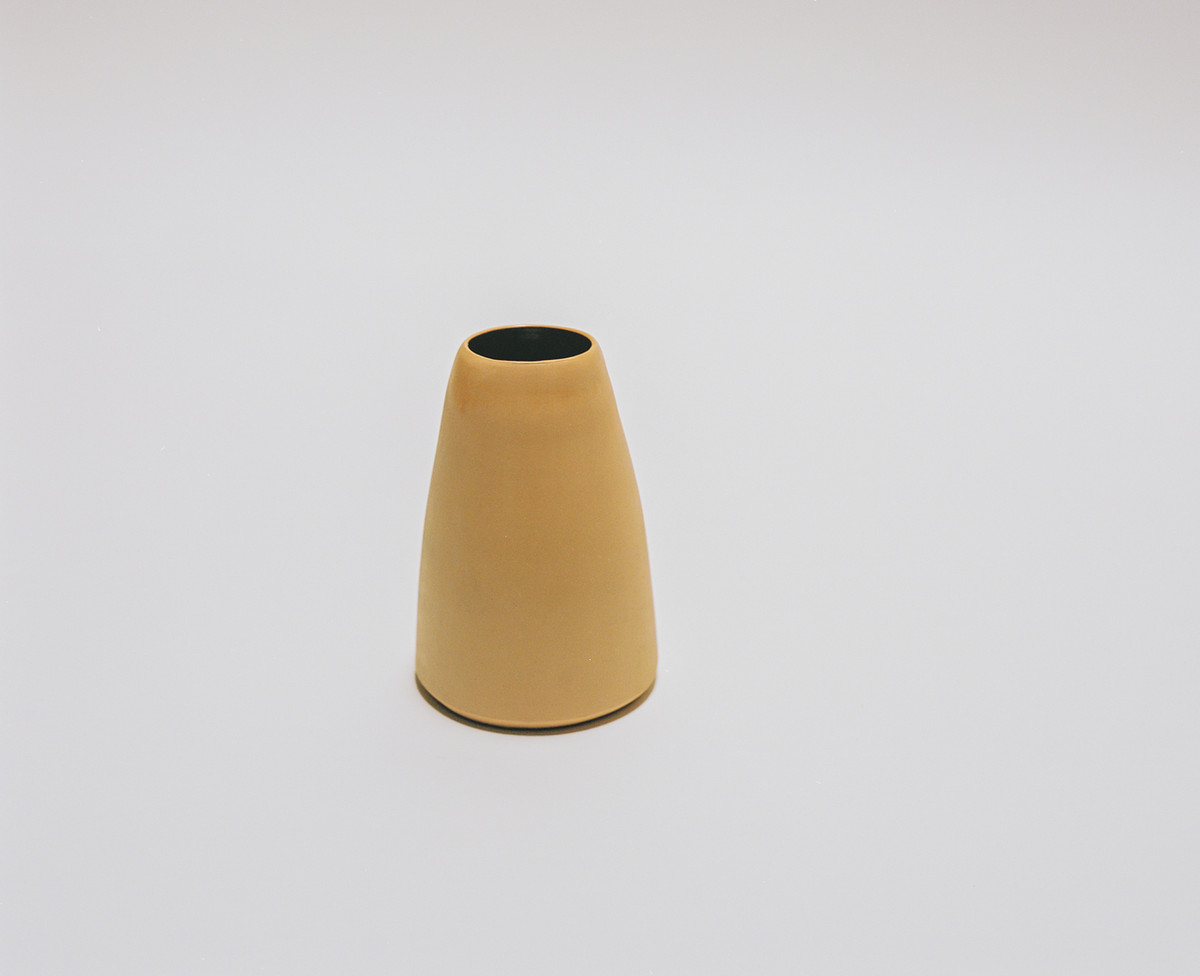 Saint Heron Ceramic Vase - Butterscotch