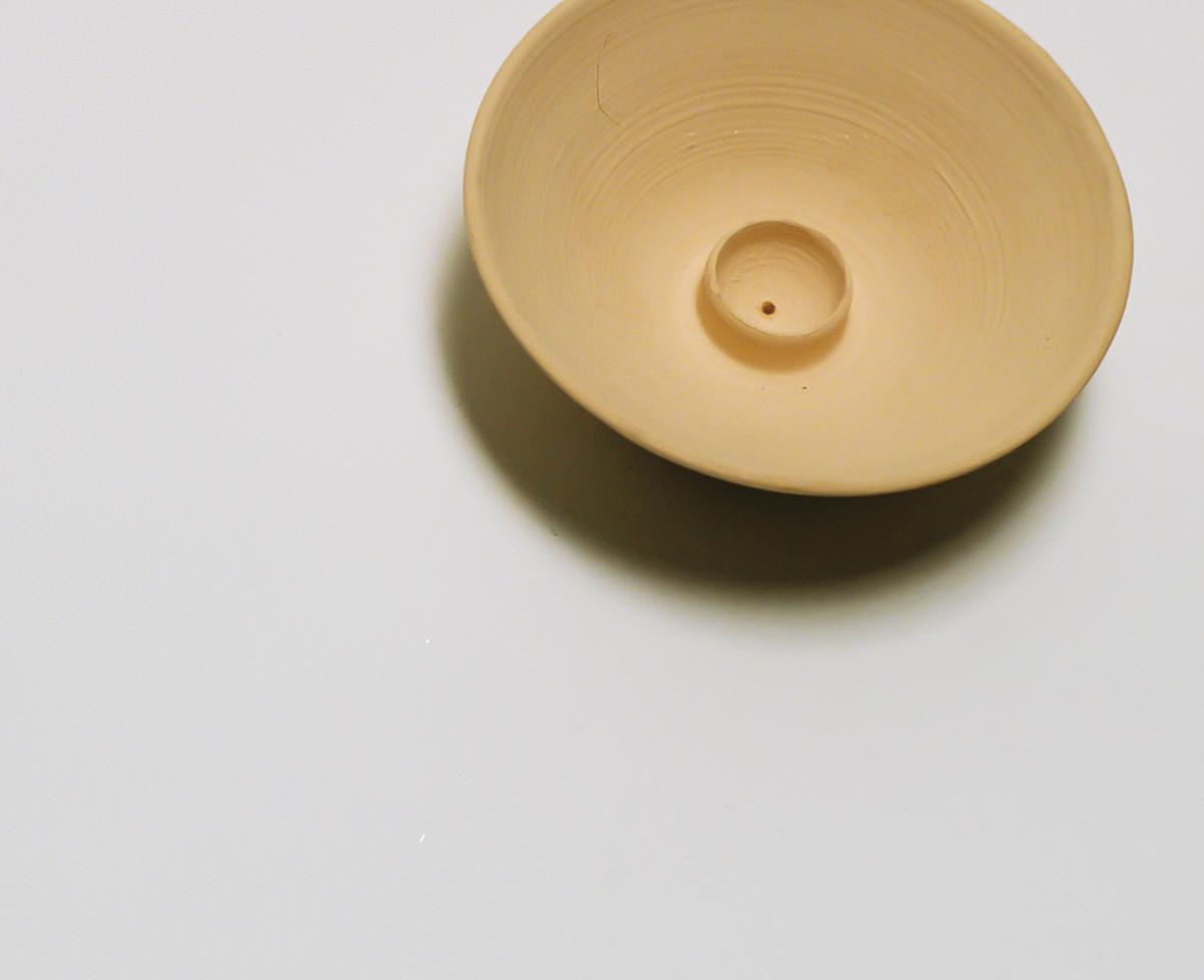 Saint Heron Ceramic Incense Holder - Butterscotch (SOLD OUT)