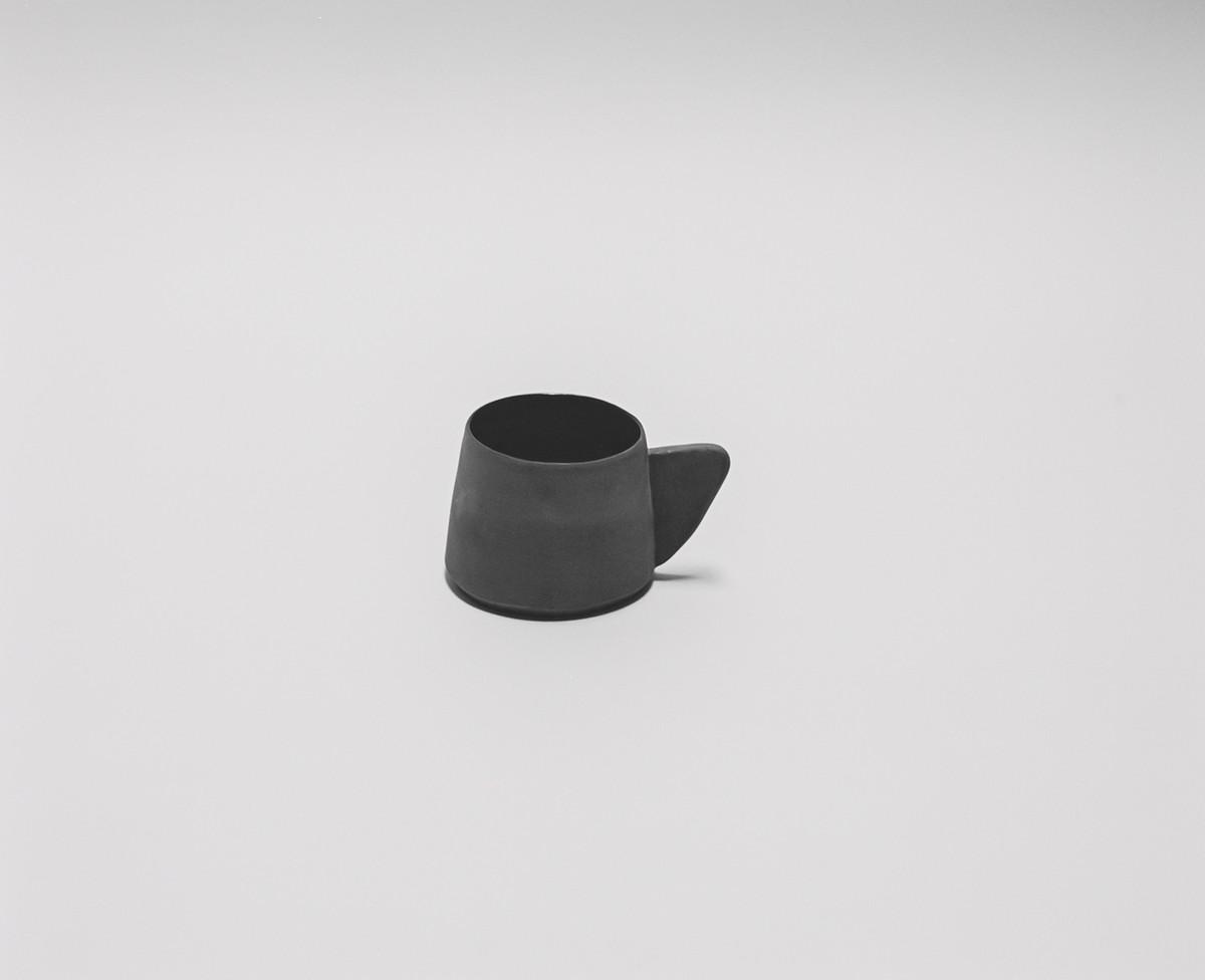 Saint Heron Ceramic Mug - Charcoal Gray