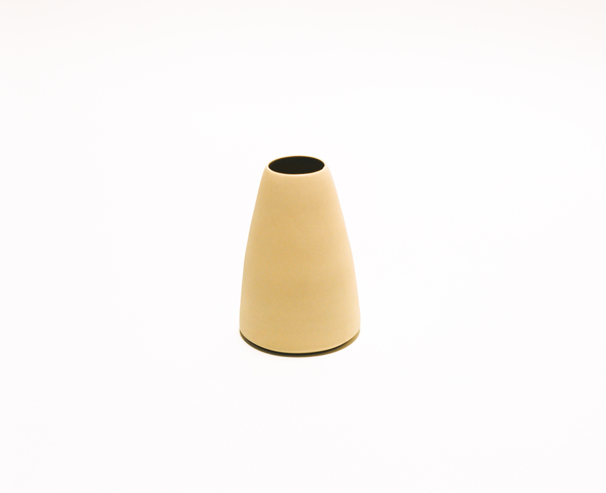 Saint Heron Ceramic Vase - Ivory