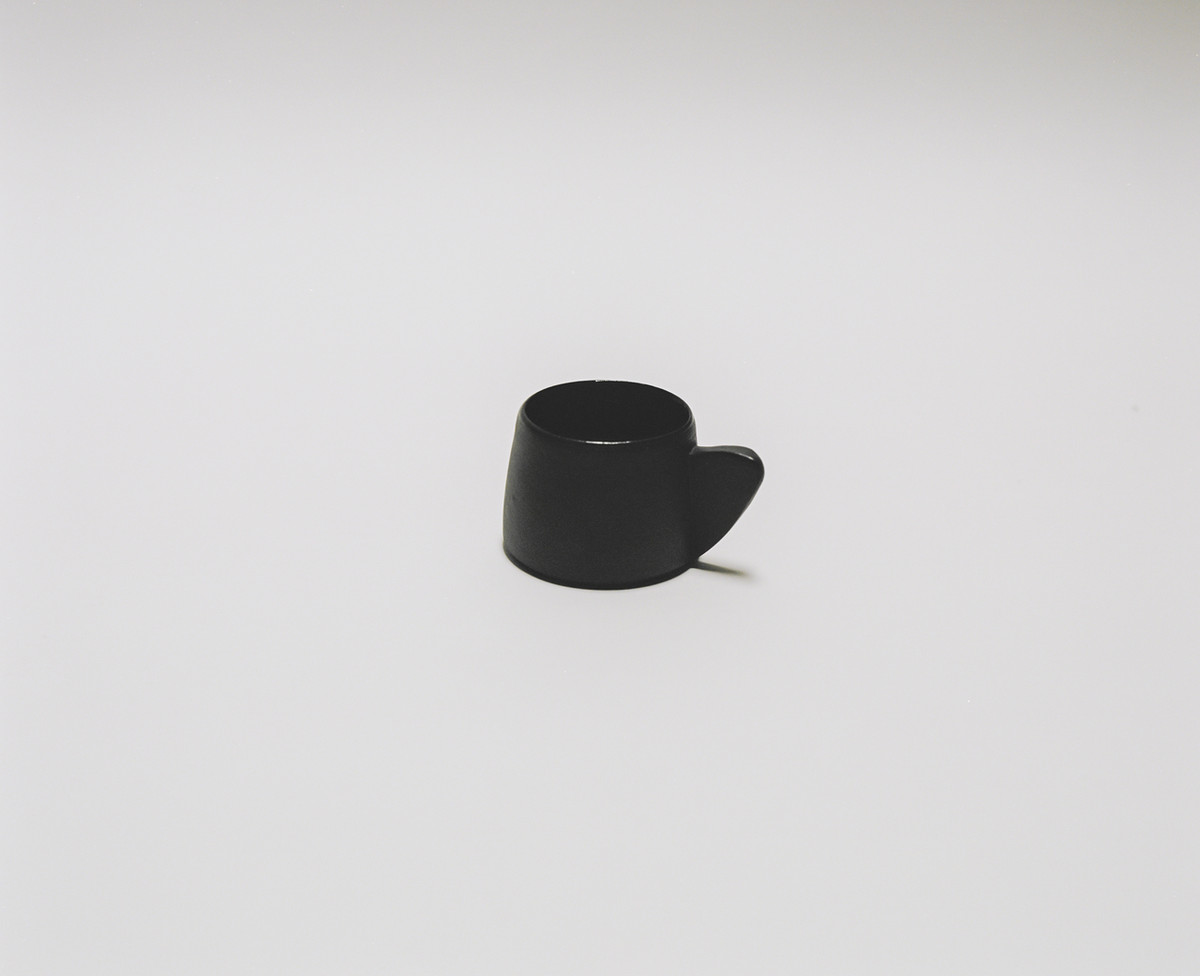 Saint Heron Ceramic Mug - Black