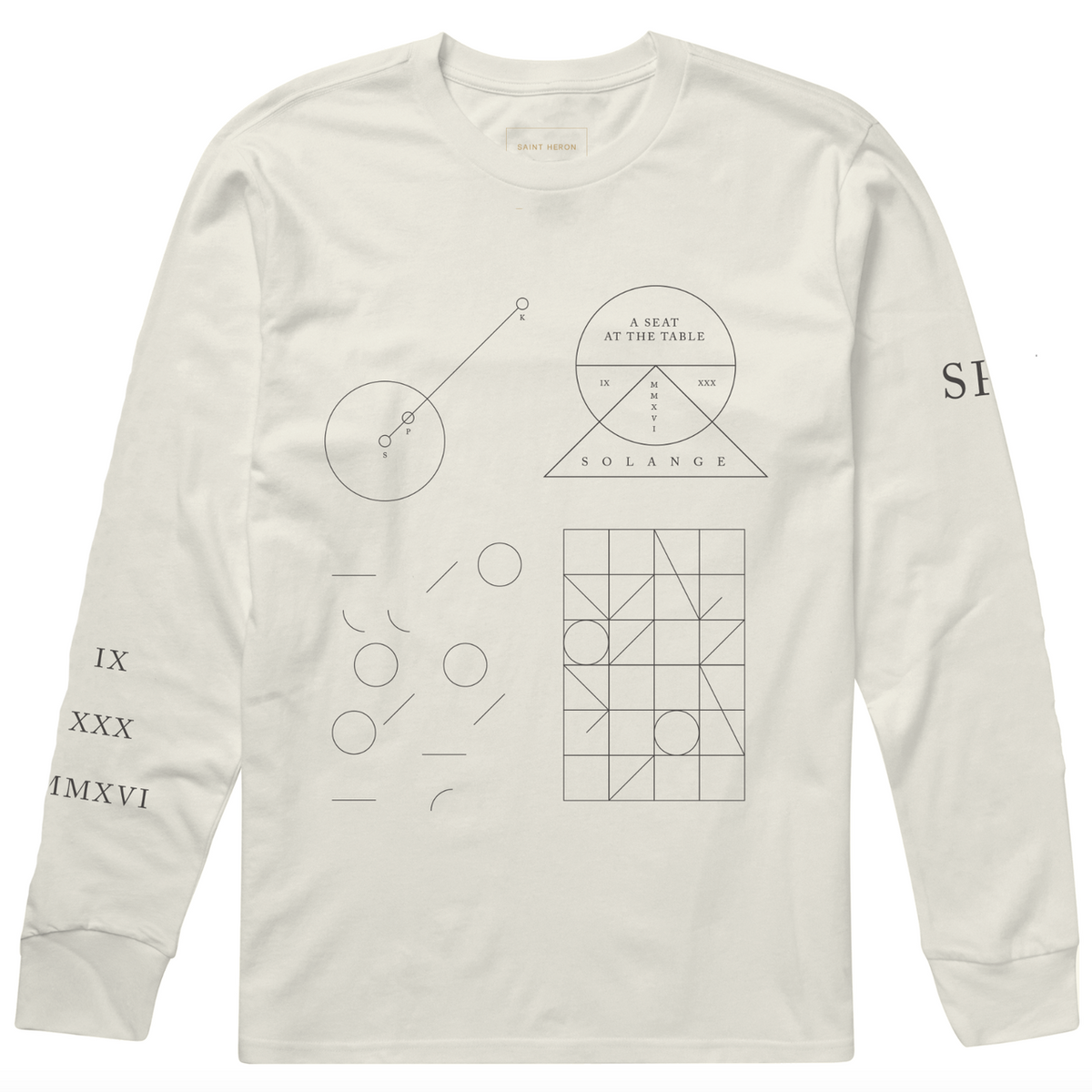 Orion's Rise Long Sleeve Tee - Ivory
