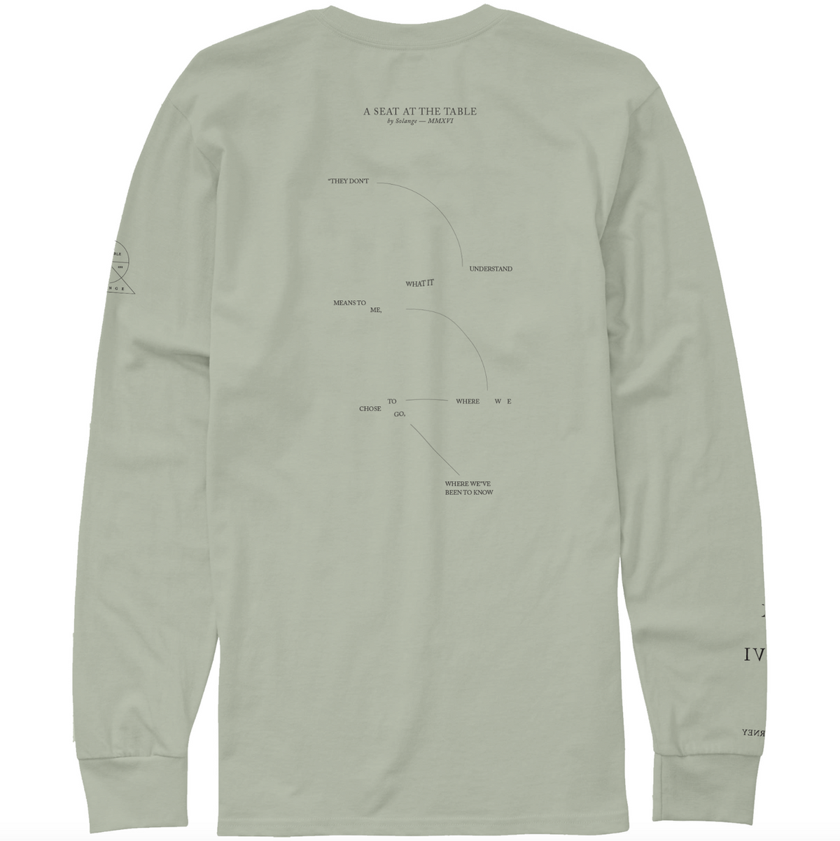 Cosmic Journey Long Sleeve Tee - Khaki