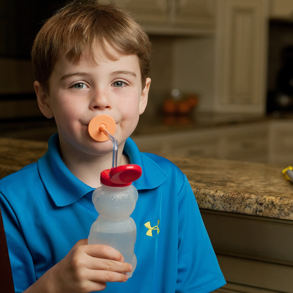 Naturally exercise the mouth muscles