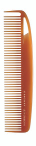 Dressing Comb  •Best for everyday use — ideal for styling, cutting and daily grooming.  •A blend of Argan and Olive oils, plus Keratin protein infused plastic, glides through hair •Helps add shine and smoothness to hair •Reduces the appearance of frizz •Wont' leave residue on hands