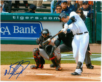 Nick Castellanos Autographed Detroit Tigers 8x10 Photo #2 - Home Batting