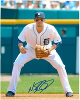 Nick Castellanos Autographed Detroit Tigers 8x10 Photo #1 - Home Fielding