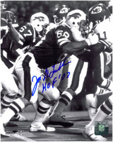 Joe DeLamielleure Autographed Buffalo Bills 8x10 Photo #1