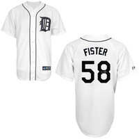 Doug Fister Autographed Detroit Tigers Jersey