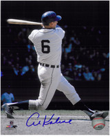 Al Kaline Autographed Detroit Tigers 8x10 Photo - Number Six