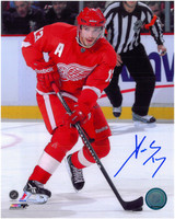 Pavel Datsyuk Autographed Detroit Red Wings 8x10 Photo #5 - The Dangle