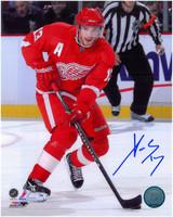 Pavel Datsyuk Autographed Detroit Red Wings 8x10 Photo #5 - The Dangle