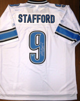 Matthew Stafford Autographed Detroit Lions Jersey