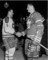 Maurice Richard and Allan Stanley Autographed 8x10 Photo