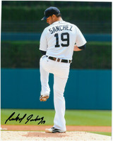 Anibal Sanchez Autographed Detroit Tigers 8x10 Photo #5 - Home Windup