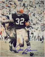 Jim Brown Autographed Cleveland Browns 8x10 Photo