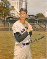 Ted Williams Autographed Boston Red Sox 8x10 Photo