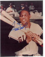 Willie Mays Autographed New York Giants 8x10 Photo