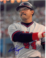 Reggie Jackson Autographed California Angels 8x10 Photo