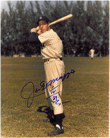 Joe Dimaggio Autographed New York Yankees 8x10 Photo