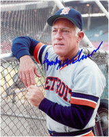 Sparky Anderson Autographed Detroit Tigers 8x10 Photo #1 8x10AB - Anderson, Sparky 8x10V 001